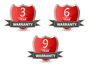 Warranty for many years!