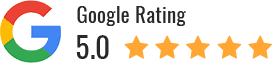 Rated 5 Stars on Google!