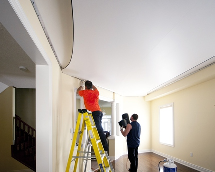 DIY Popcorn Ceiling Removal Is Difficult