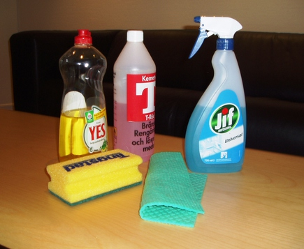 Brushes and Detergents