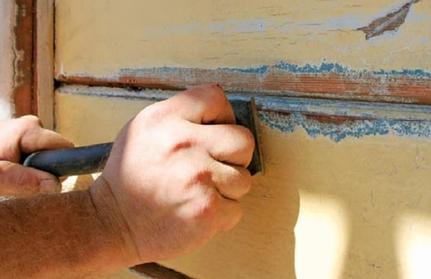 How We Scrape Paint in a Glenwood Springs Home