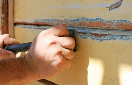 How We Scrape Paint