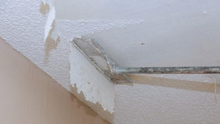 Do It Yourself Popcorn Ceiling Removal Is Difficult