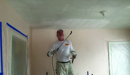 Dangers of Popcorn Ceiling Removal