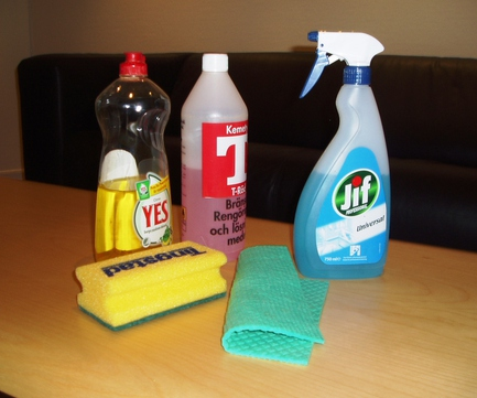Using Cleaning Agents