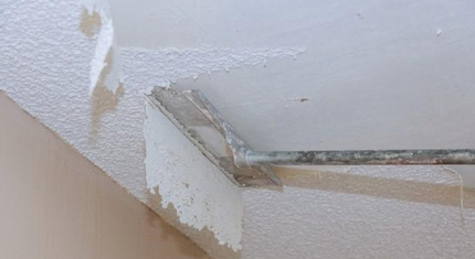 Why You Should Hire Professional Popcorn Ceiling Removal